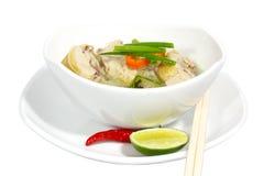 Nouille de poulet Image stock
