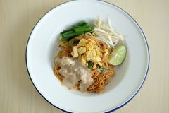 Nouille de riz de noix de coco photos libres de droits