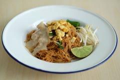 Nouille de riz de noix de coco photographie stock