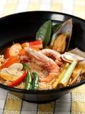 Nouille de soupe à kung de Tom yum Image libre de droits