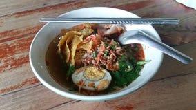 Nouille de Sukhothai photo stock