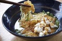 Nouille douce thaïlandaise de soupe Photo libre de droits