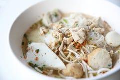 Nouille thaïlandaise de Tom de nourriture yum dans le style thaïlandais photo stock