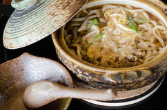 Nouille traditionnelle de style japonais, Udon Photo libre de droits