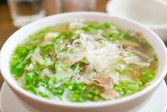 Nouille vietnamienne de pho Images stock