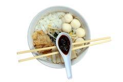 Nouilles chinoises image stock