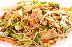 Nouilles chinoises Photos stock