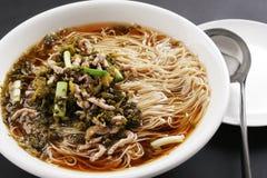 Nouilles chinoises Photo stock