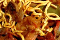 Nouilles chinoises de nourriture photos libres de droits