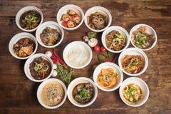 Nouilles chinoises pour le wok Photo stock