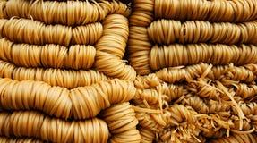 Nouilles d'haricot de Hinese Photographie stock libre de droits
