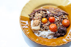 Nouilles du nord thaïlandaises Photos stock