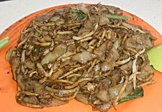 Nouilles frites Photo libre de droits