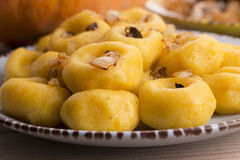 Nouilles polonaises (slaskie de kluski) Photo stock