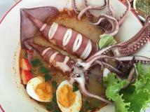 Nouilles thaïes Photo libre de droits
