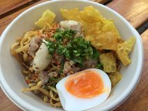 Nouilles thaïes Images stock