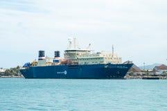 Noumea docks Royalty Free Stock Photo
