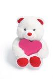 nounours d'amour de coeur d'ours Images libres de droits