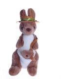 Nounours de kangourou avec la chéri Image stock
