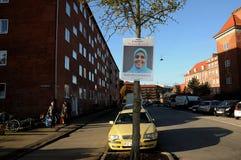NOURA BENDALI _CADIDATE ΑΠΌ NAATIONAL PQRTY Στοκ εικόνες με δικαίωμα ελεύθερης χρήσης