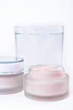 Nourishing creams Stock Photo