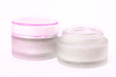 Nourishing creams Stock Image