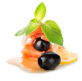 Nourishing fish fillet Stock Photos