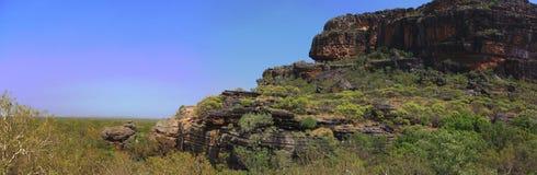 Nourlangie, kakadu nationaal park, Australië Stock Foto's