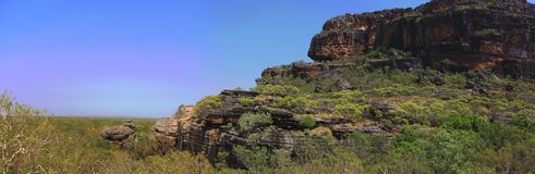 Nourlangie, parc national de kakadu, Australie Photos stock