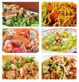 Nourriture épicée thaïe préférée Image libre de droits