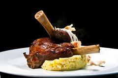 Nourriture 2 d'agneau Images stock