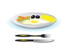 Nourriture. illustration de vecteur