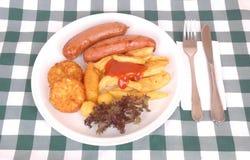 Nourriture allemande d'Oktoberfest Photos libres de droits