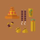 Nourriture arabe Image stock