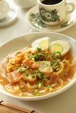 Nourriture asiatique de nouille image libre de droits