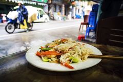 Nourriture asiatique de rue du Vietnam Thaïlande photos libres de droits
