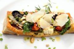 Nourriture aux. fine de Tarte photos libres de droits
