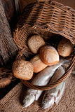 Nourriture bénie Image stock