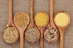 Nourriture biologique Photographie stock