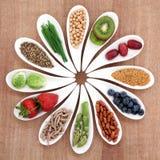 Nourriture biologique Photo libre de droits