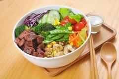 Nourriture biologique chinoise image libre de droits