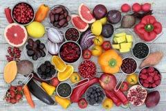 Nourriture biologique d'anthocyanine Photos libres de droits
