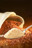 Nourriture biologique de céréale photo libre de droits