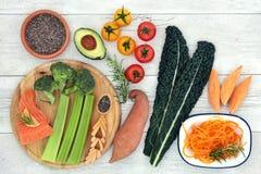 Nourriture biologique pour améliorer Brain Power image libre de droits