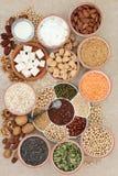 Nourriture biologique pour des Vegans image stock