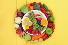 Nourriture biologique pour des Vegans photographie stock libre de droits