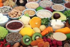 Nourriture biologique pour des Vegans photo stock