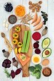 Nourriture biologique pour meilleur Brain Power image stock