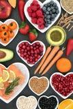 Nourriture biologique pour un coeur sain Image stock