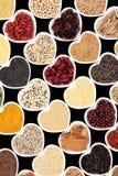 Nourriture biologique sèche images stock